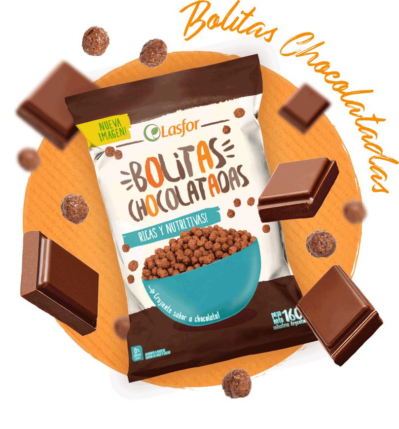 Lasfor Infantil Bolitas Chocolatadas