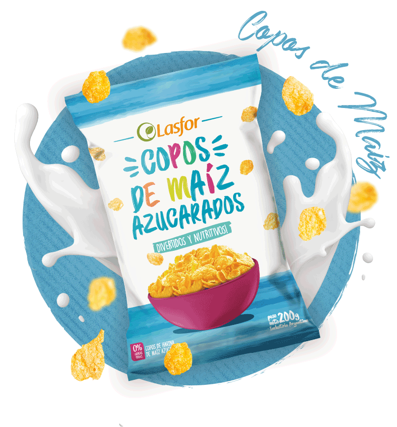 Lasfor Infantil Copos de Maiz Azucarados