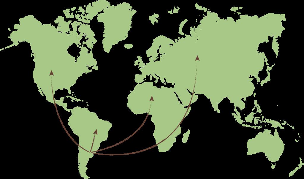 Mapa Lasfor