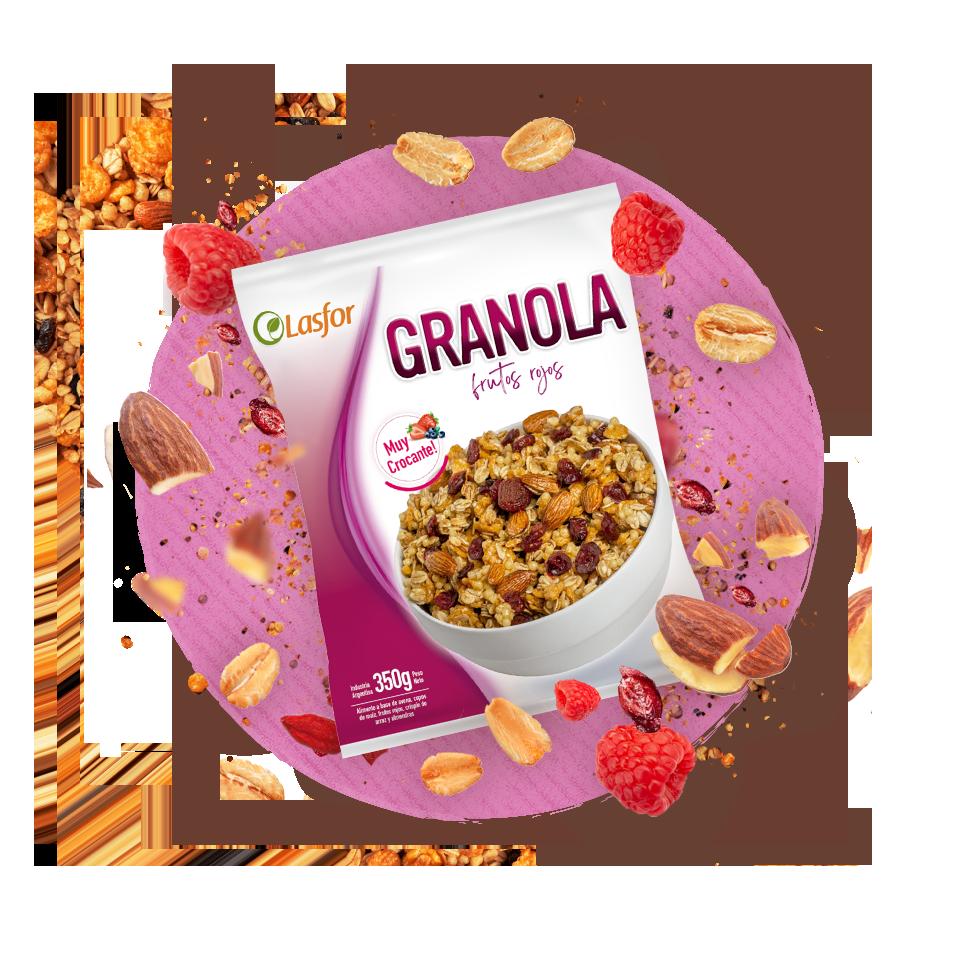 Granola Frutos Rojos